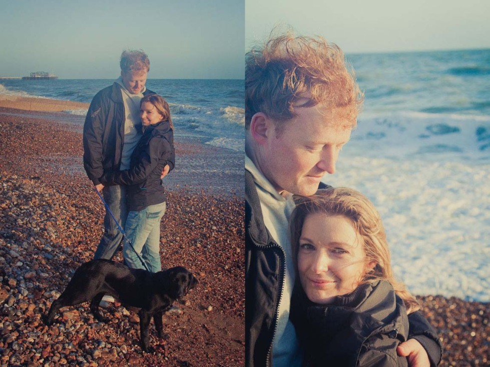 PhotoMadly - Hove engagement session - Rachael & Paul