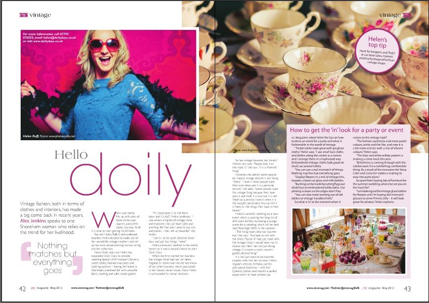 PhotoMadly Brighton Wedding Photographer Helen Ruff Doily Days Etc Mag