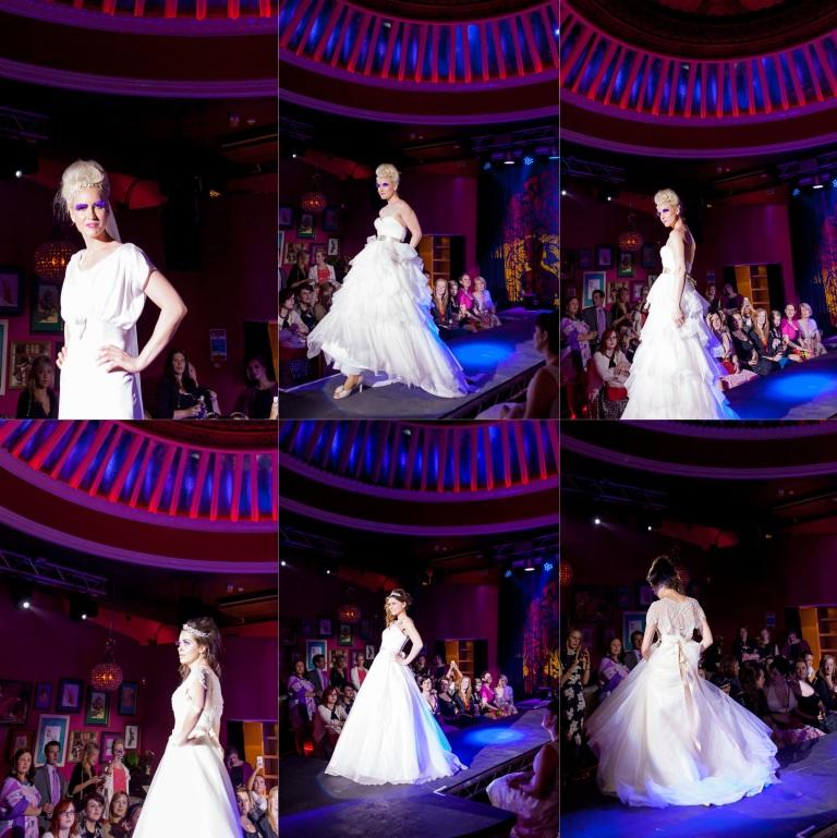 Under the Vintage Veil Bridal Fashion Show | PhotoMadly Wedding Photographer Brighton