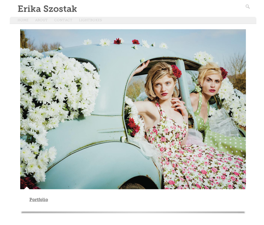 Fashion Photographer London | Erika Szostak